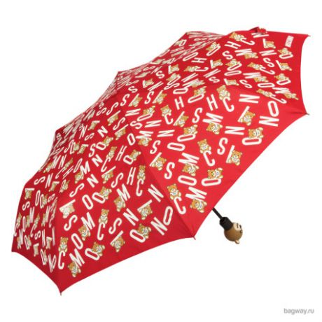 Зонт Moschino Umbrellas 8181 Toy Lettering (M 8181-OCC Toy Lettering  Red)