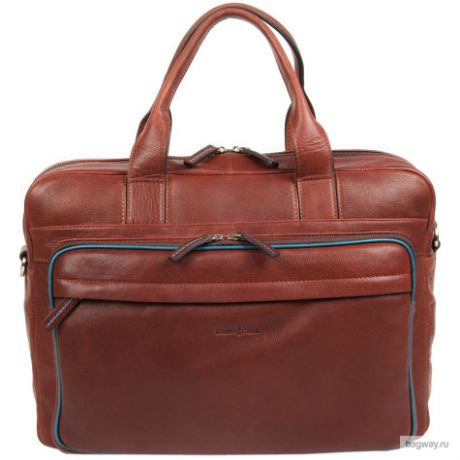 Мужская сумка Gianni Conti Business 1751276 (1751276 brown teal)