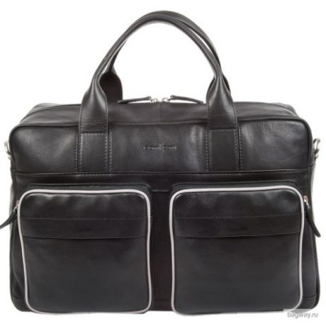 Мужская сумка Gianni Conti Business 1751278 (1751278 black grey)