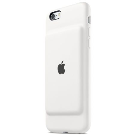 Чехол-аккумулятор для iPhone 6/6S Apple Smart Battery Case MGQM2ZM/A White