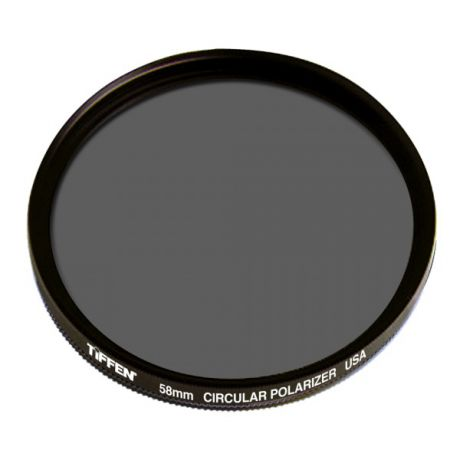 Светофильтр Tiffen CIRCULAR POLARIZER 58mm