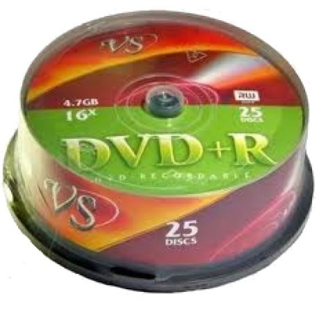 DVD+R набор дисков Vs DVD+R 4,7 GB 16x CB/25 x25