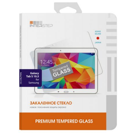 Защитное стекло для Samsung Galaxy Tab S 10.5 Inter-Step IS-TG-SAMGTBS10-000B201