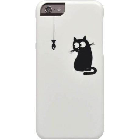 Чехол для iPhone 6/6S Icover Cats Silhouette 11 White