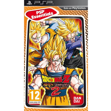 Dragon Ball Z Shin Budokai 2 (Essentials) Игра для PSP