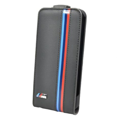 Чехол для iPhone 5/5S/SE BMW M-Collection Flip (BMFLP5MG) Grey