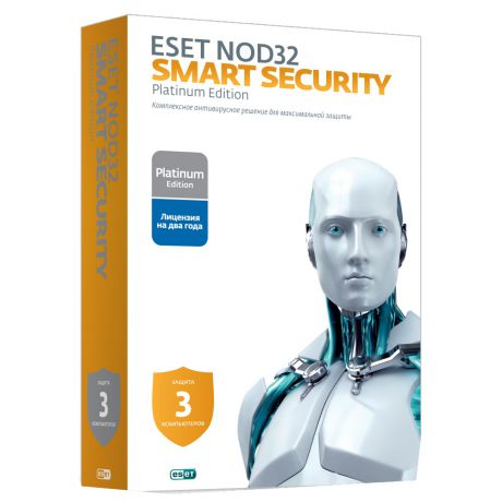 Антивирус ESET NOD32 Smart Security Platinum Edition