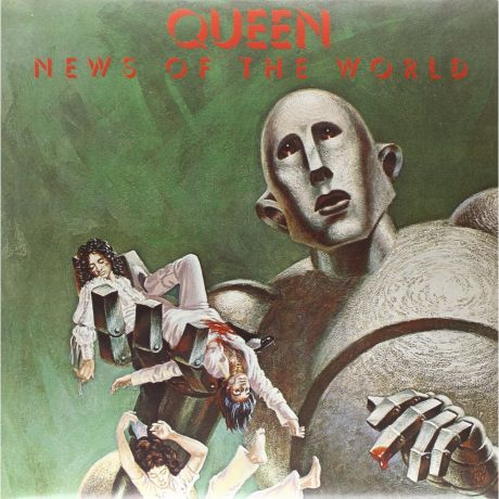 Виниловая пластинка Queen News Of The World (Limited Black Vinyl)