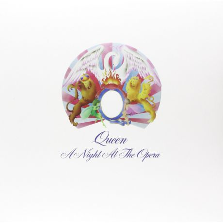 Виниловая пластинка Queen A Night At The Opera (Limited Black Vinyl)