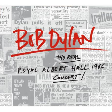 Виниловая пластинка Bob Dylan The Real Royal Albert Hall 1966 Concert