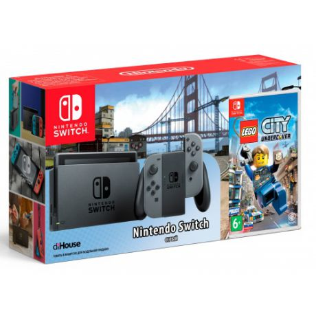 Игровая консоль Nintendo Switch + Lego Undecover
