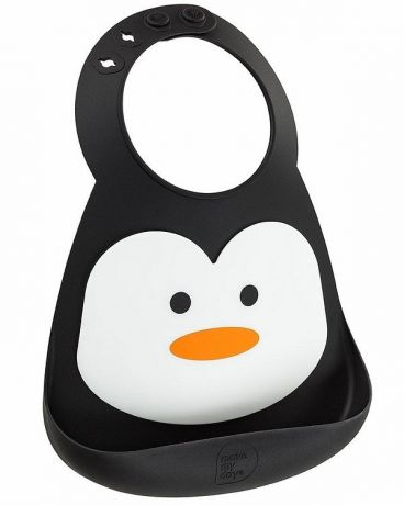 MAKE MY DAY Нагрудник Baby Bib - Penguin