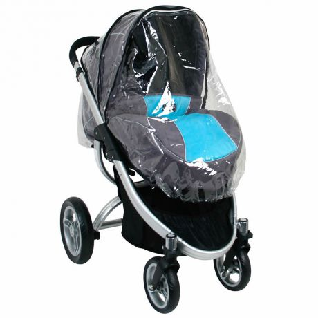Valco baby Дождевик Raincover для коляски Rebel Q, Zee Spark, Snap 4 Ultra