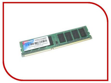 Модуль памяти Patriot Memory DDR2 DIMM 800MHz PC2-6400 - 2Gb PSD22G80026 / PSD22G8002