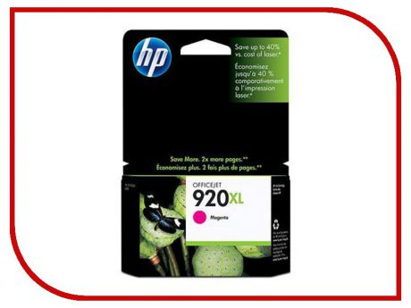 Картридж HP 920XL Officejet CD973AE Magenta для 6000/6500/7000