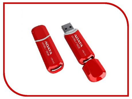 USB Flash Drive 16Gb - A-Data UV150 USB 3.0 Red AUV150-16G-RRD
