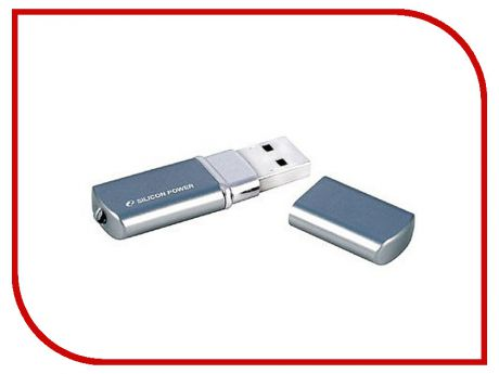 USB Flash Drive 8Gb - Silicon Power LuxMini 720 Deep Blue SP008GBUF2720V1D