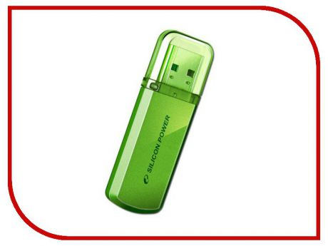 USB Flash Drive 32Gb - Silicon Power Helios 101 Green SP032GBUF2101V1N