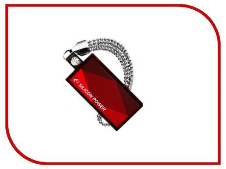 USB Flash Drive 16Gb - Silicon Power Touch 810 SP016GBUF2810V1R Red
