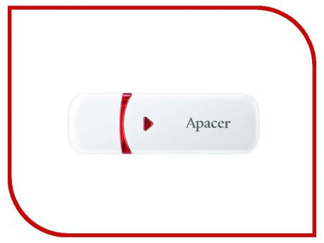 USB Flash Drive 16Gb - Apacer AH333 White AP16GAH333W-1