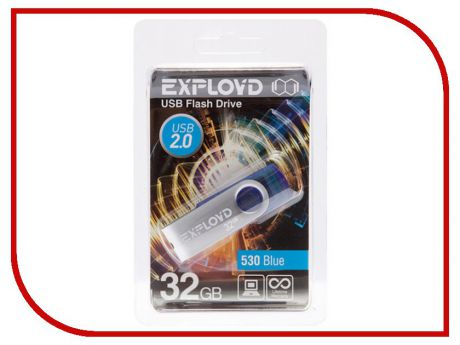 USB Flash Drive 32Gb - Exployd 530 Blue EX032GB530-Bl