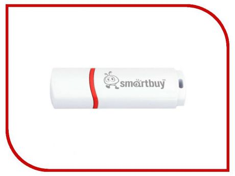 USB Flash Drive 8Gb - Smartbuy Crown White SB8GBCRW-W