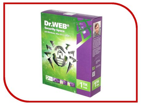 Программное обеспечение Dr.Web Security Space 1Dt 1 year BHW-B-12M-1-A3