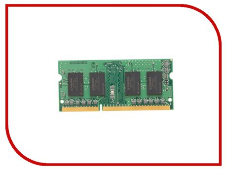 Модуль памяти Kingston DDR3 SO-DIMM 1600MHz PC3-12800 CL11 - 2Gb KVR16S11S6/2