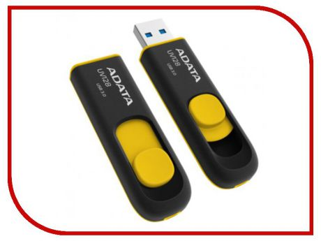 USB Flash Drive 16Gb - A-Data DashDrive UV128 USB 3.0 AUV128-16G-RBY
