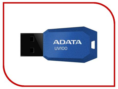 USB Flash Drive 16Gb - A-Data UV100 Classic Blue AUV100-16G-RBL