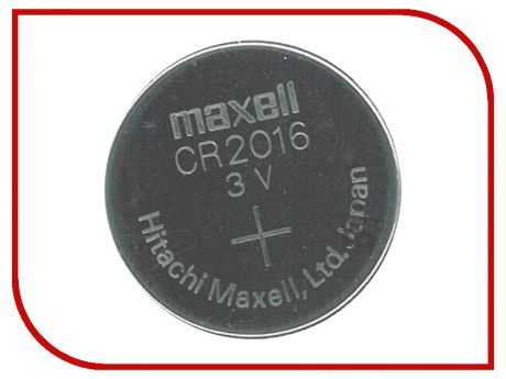 Батарейка CR2016 - Maxell CR2016 3V (1 штука)