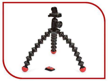 Аксессуар Штатив Joby GorillaPod Action Tripod with Mount для GoPro Black/Red JB01300-BWW GP2CWW
