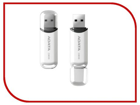 USB Flash Drive 16Gb - A-Data C906 Classic White AC906-16G-RWH