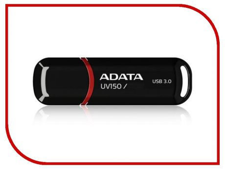 USB Flash Drive 64Gb - A-Data UV150 Black AUV150-64G-RBK