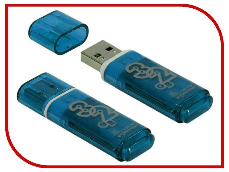 USB Flash Drive 32Gb - SmartBuy Glossy Blue SB32GBGS-B