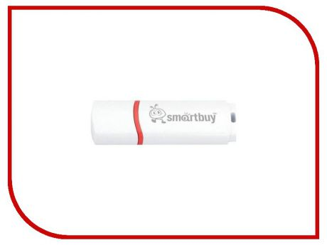 USB Flash Drive 64Gb - SmartBuy Crown White SB64GBCRW-W