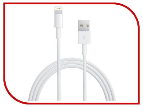 Аксессуар Ginzzu Lightning to USB Cable 1.0m for iPhone 5/iPod Touch 5th/iPod Nano 7th/iPad 4/iPad mini GC-501W White