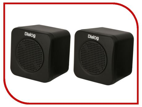 Колонка Dialog Colibri AC-01UP Black