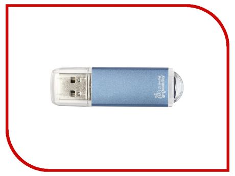 USB Flash Drive 32Gb - SmartBuy V-Cut Blue SB32GBVC-B