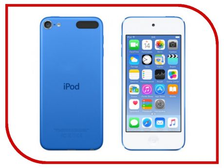 Плеер APPLE iPod Touch 6 - 32Gb Blue MKHV2RU/A