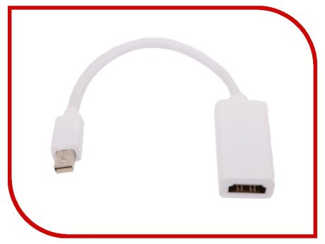 Аксессуар Telecom Mini DisplayPort M - HDMI F 0.2m TA6055