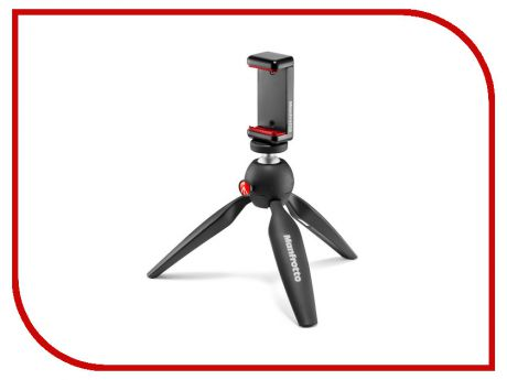 Мини-штатив Manfrotto Mini Tripod Black MKPIXICLAMP-BK