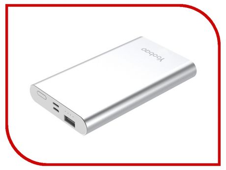 Аккумулятор Yoobao Power Bank PL10 10000mAh Silver