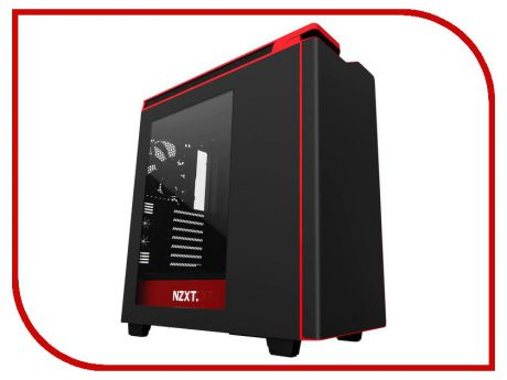 Корпус NZXT H440 Black-Red CA-H442W-M1