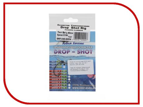 Поводок Deepriver DROP SHOT DRF-040-G004