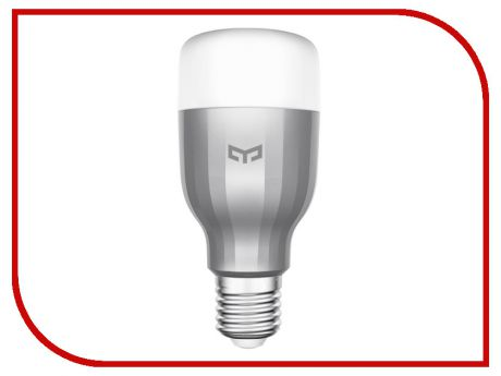 Гаджет Светодиодная лампа Xiaomi Yeelight Smart Led Bulb Color Silver GPX4002RT