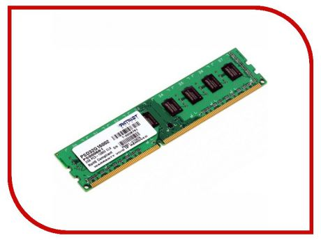 Модуль памяти Patriot Memory DDR3 DIMM 1600MHz PC3-12800 - 2Gb PSD32G16002 / 81