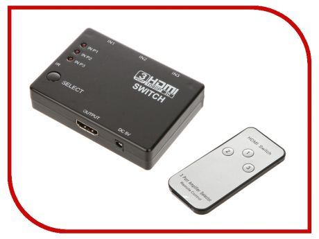 Аксессуар HDMI switch Palmexx PX/SWITCH-3HDMI-RC