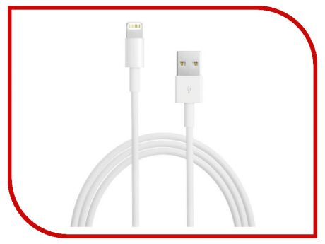 Аксессуар iQFuture Lightning to USB 2.0 Cable for iPhone 5S/5C/5/iPad Air/iPad 4/iPad mini 2 Retina/iPad mini/iPod Touch 5th/iPod Nano 7th IQ-AC01-NEW White