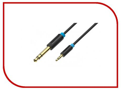 Аксессуар Vention 6.5mm Jack M - 3.5mm Jack M 1m BABBF
